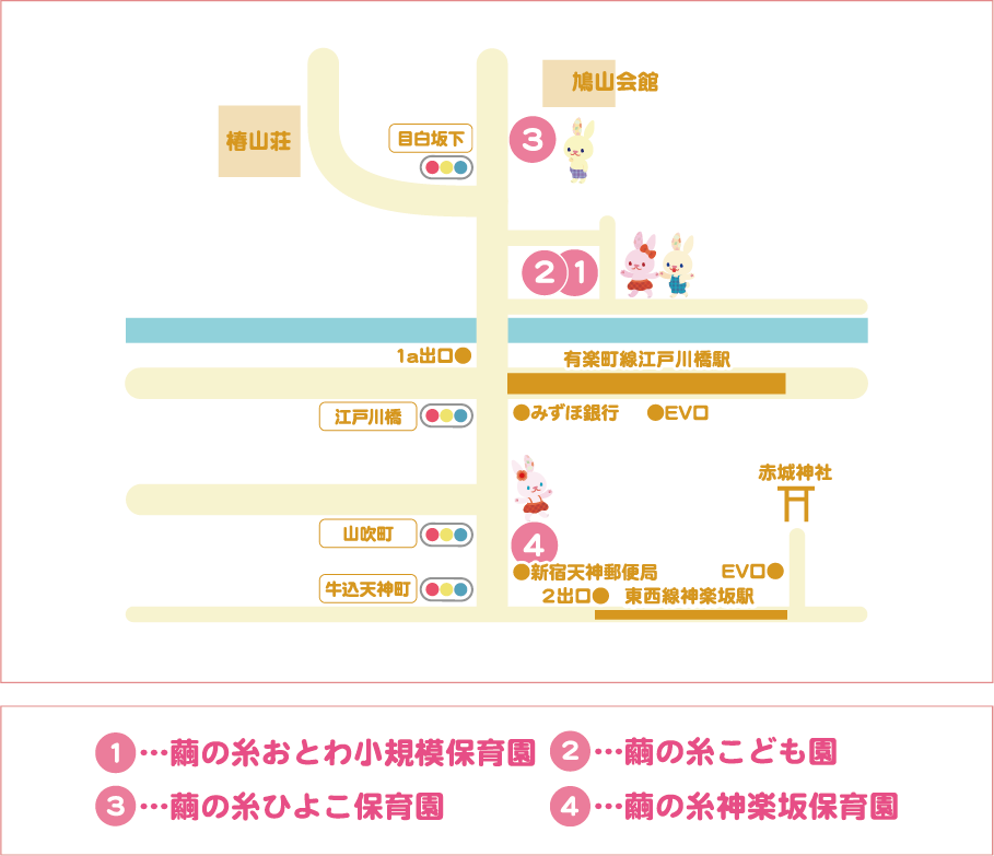 地図:繭の糸 園マップ